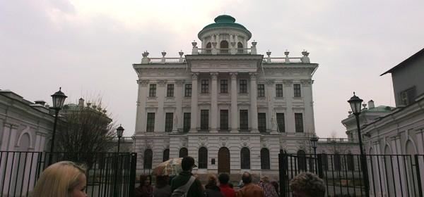 Фасад внутреннего двора
