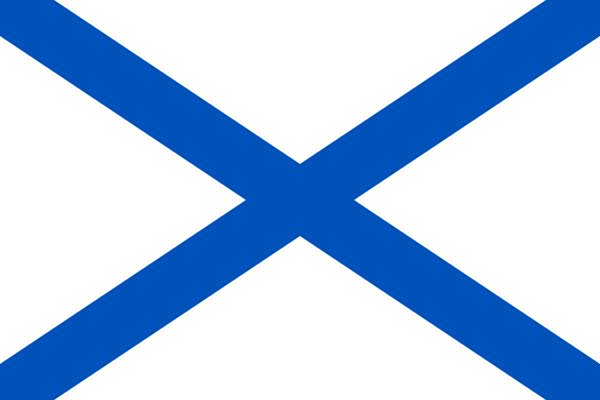 голубо белый флаг